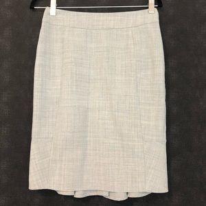 Body by Victoria Grey Ruffled Pencil Skirt